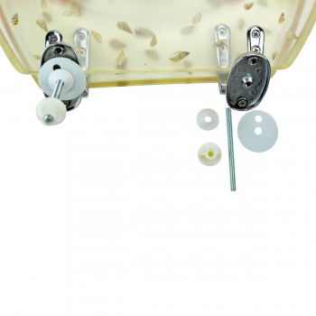 <PRE>Polyresin Toilet Seat Sea Shell Adjustable Elongated Hinge </PRE>zoom9
