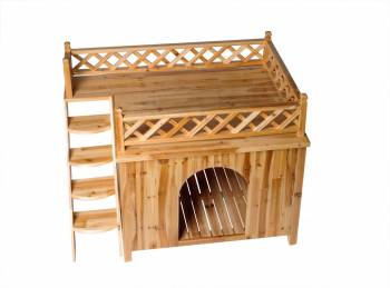Dog House Ruff-top Deck Large