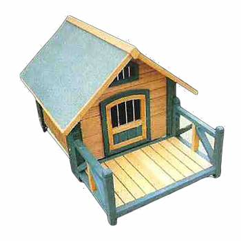 <PRE>Wooden Dog House Outdoor Wooden Pet Shelter Bed M w/ Porch</PRE>zoom1
