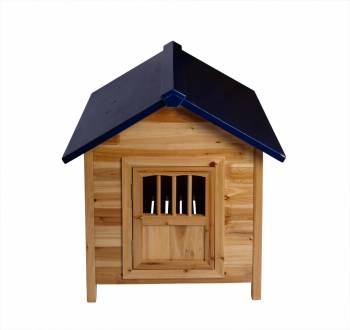 <PRE>Wooden Dog House Outdoor Pet Shelter Bed Medium w/ Window </PRE>zoom1