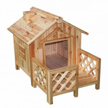 Dog House Pooch Porch Parlor Medium