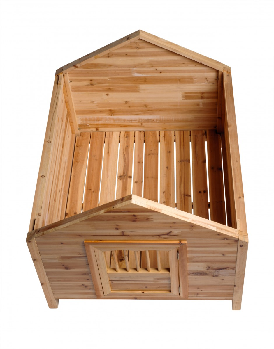 Wooden Dog House Outdoor Wooden Pet Shelter Bed Large w Porch Wooden Dog House Wood Dog House Dog House Outdoor