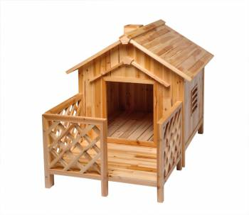 Dog House Pooch Porch Parlor Large