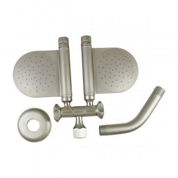 <PRE>Shower Head Solid Brass Nickel 98 Mist </PRE>zoom3