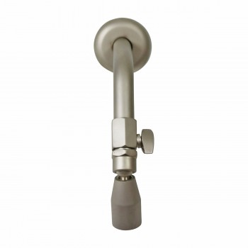 <PRE>Shower Heads Solid Brass Nickel Finish 3 Spray Settings </PRE>zoom5