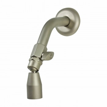 <PRE>Shower Heads Solid Brass Nickel Finish 3 Spray Settings </PRE>zoom6