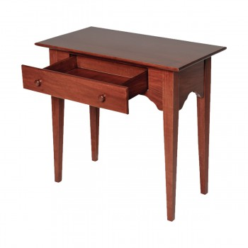 End Tables Bedroom Cherry Stain Enfield Pine Living Room End Tables Enfield Cherry Wood End Table Bedroom Living Storage Heirloom Desk Table Side Wooden Elegant Antique Drawer Table