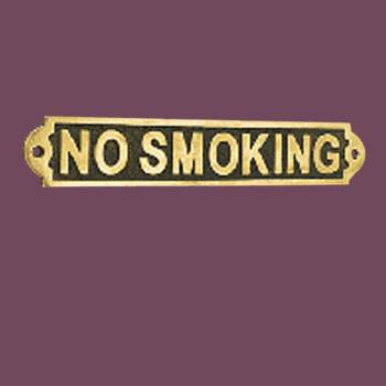 <PRE>Solid Brass Plaques NO SMOKING Sign Polished Brass Plate</PRE>zoom2