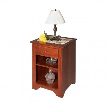 End Tables Bedroom Cherry Stain Birch Shaker End Table Living Room171220grid