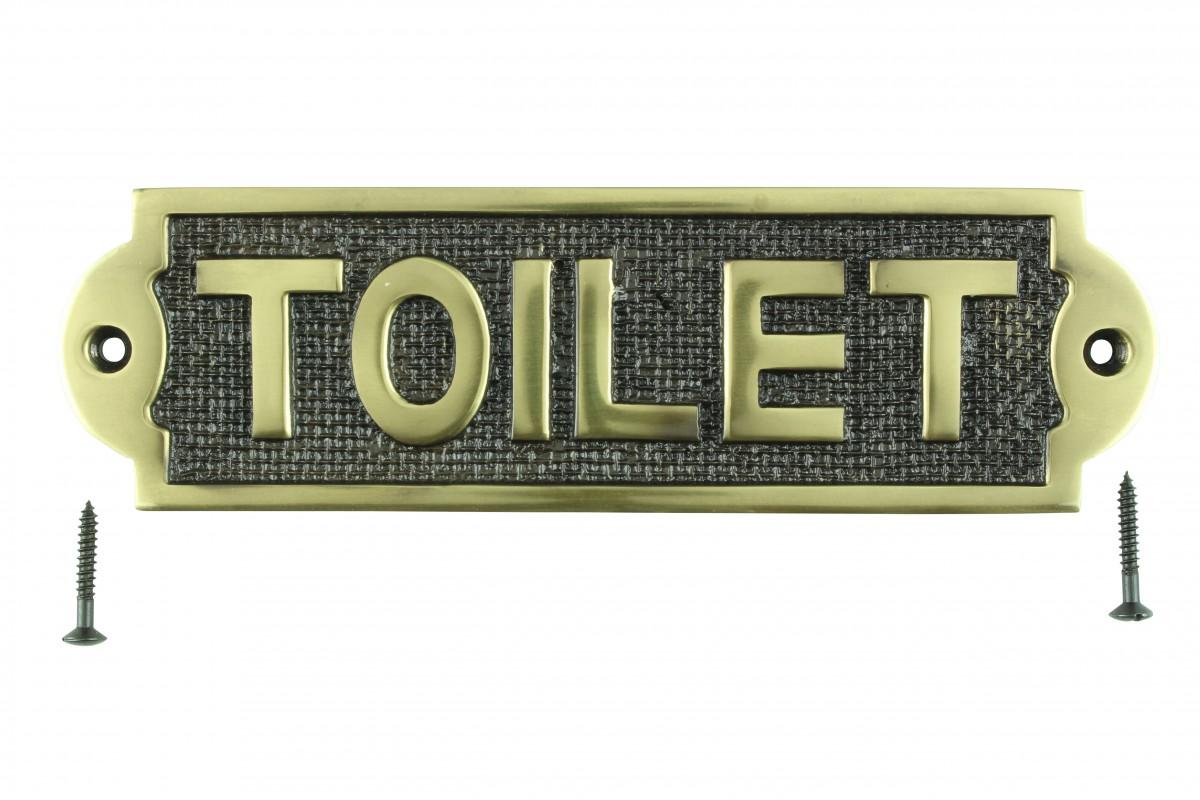 solid brass plaques toilet sign polished brass plate. Black Bedroom Furniture Sets. Home Design Ideas