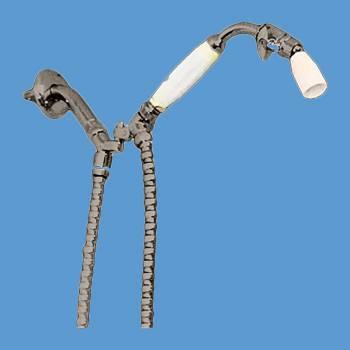 <PRE>Handheld Shower Nickel Tangle Free Hose </PRE>zoom2