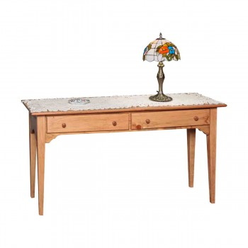 Enfield Sofa Table Honey Pine