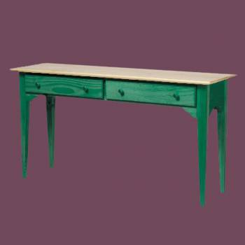 Sofa Table Hunter Green Solid Pine Sofa Table Couch Table Sofa Table Console Table