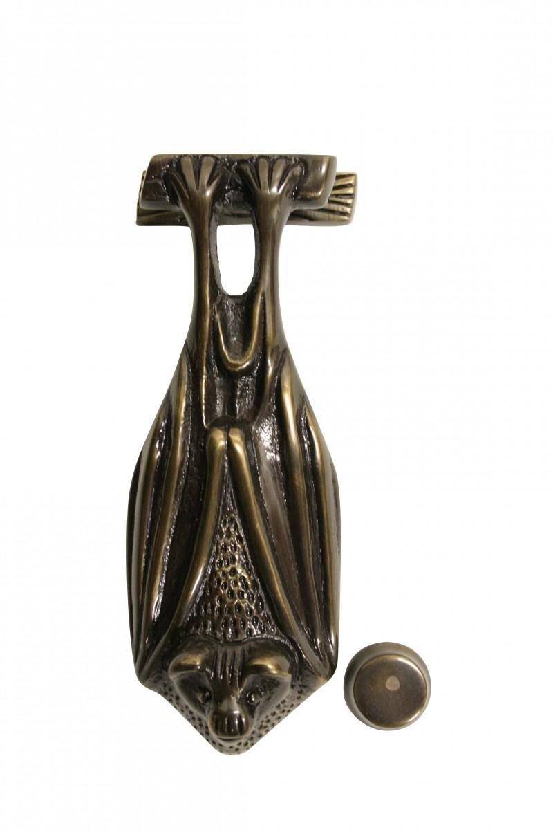 Antique Door Knocker Bat Brass Gothic Door Knocker 5 Inch X 2 Inch Antique Door Hardware Gothic Door Knocker Bat Door Knocker