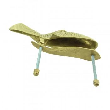 <PRE>Solid Brass Vintage Door Knocker Koi Fish 7.5inchH </PRE>zoom8