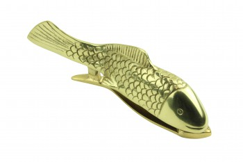 Solid Brass Vintage Door Knocker Koi Fish 7.5
