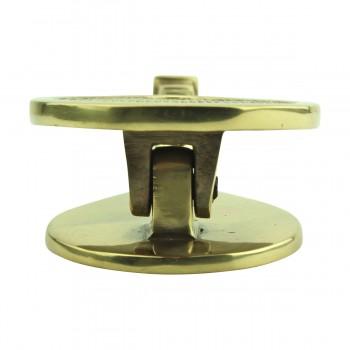 <PRE>Solid Brass Door Knocker Tennis Racket Badminton 7.5inchH </PRE>zoom11