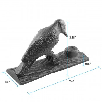 spec-<PRE>Brass Antique Door Knocker Woodpecker Vintage Antique Door Hardware 6.5 Inch</PRE>