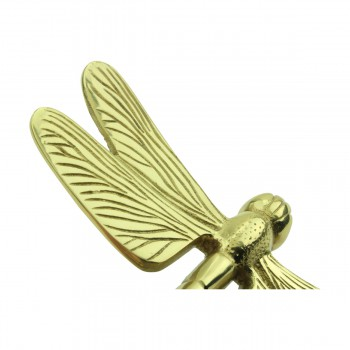 <PRE>Solid Brass Vintage Door Knocker Dragonfly </PRE>zoom10