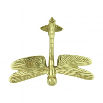 Dragonfly Door Knocker Brass P/L