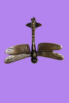 <PRE>Antique Door Knocker Brass Antique Door Hardware Dragonfly Door Knocker 4 7/8</PRE>zoom2