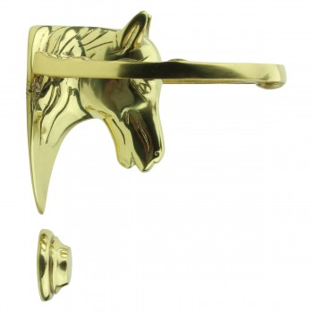 <PRE>Solid Brass Door Knocker Heavy Duty Horse 5.25inchH </PRE>zoom5