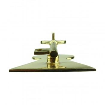 <PRE>Solid Brass Vintage Door Knocker Key Plate 6inch H </PRE>zoom7
