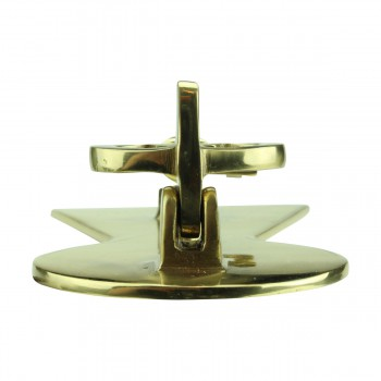 <PRE>Solid Brass Vintage Door Knocker Key Plate 6inch H </PRE>zoom9