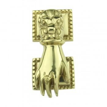 Solid Brass Victorian Door Knocker Ladies Woman Hand 4H Hand Door Knocker Brass Door Knockers Door Knockers For Front Door