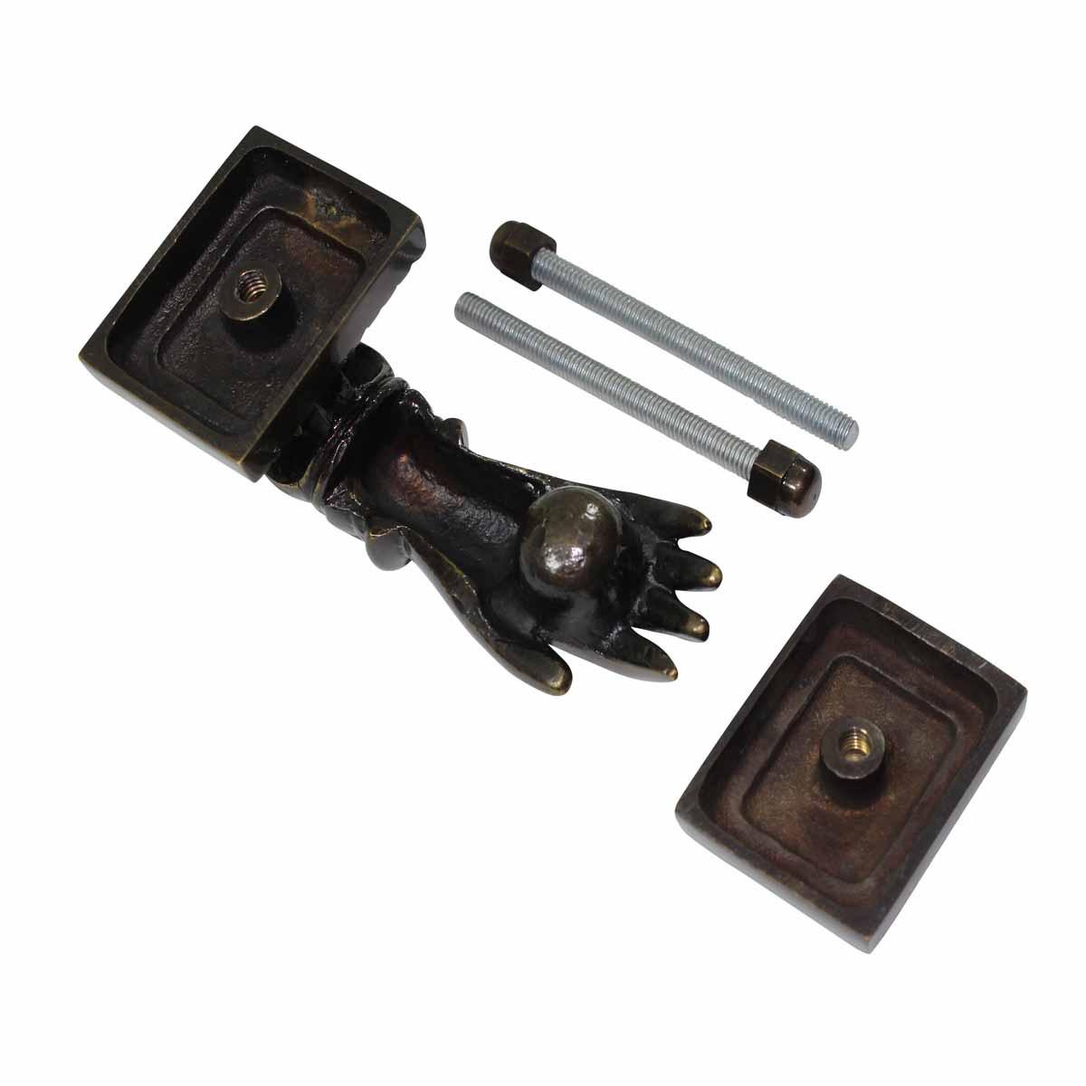 Antique Brass Victorian Door Knocker Ladies Woman Hand 4H Hand Door Knocker Brass Door Knockers Door Knockers For Front Door