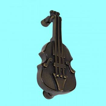<PRE>Antique Door Knocker Brass Vintage Antique Door Hardware Violin Door Knocker 6.5</PRE>zoom2