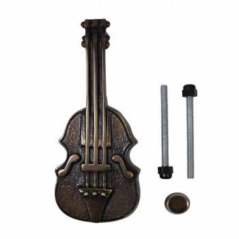 <PRE>Antique Door Knocker Brass Vintage Antique Door Hardware Violin Door Knocker 6.5</PRE>zoom3