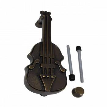 <PRE>Antique Door Knocker Brass Vintage Antique Door Hardware Violin Door Knocker 6.5</PRE>zoom4