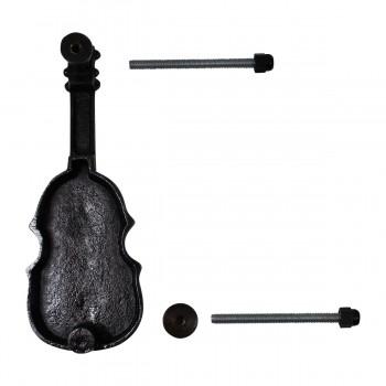 <PRE>Antique Door Knocker Brass Vintage Antique Door Hardware Violin Door Knocker 6.5</PRE>zoom7