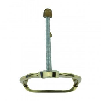 <PRE>Solid Brass Large Door Knocker Stirrup 9.5inchH </PRE>zoom10