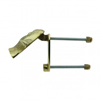 <PRE>Solid Brass Door Knocker Duck Head </PRE>zoom6