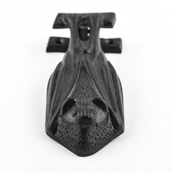<PRE>Door Knocker Black Cast Iron Bat 5inch H x 2&quot; W </PRE>zoom5
