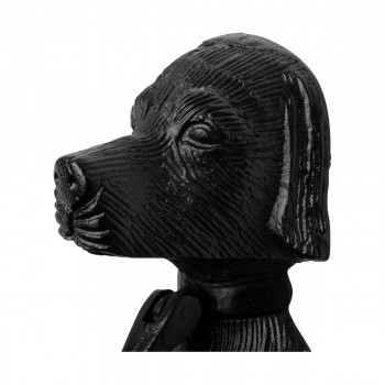 "<PRE>Door Knocker Black Cast Iron Dog 7 5/8inch H x 2 1/2"" W </PRE>zoom3"