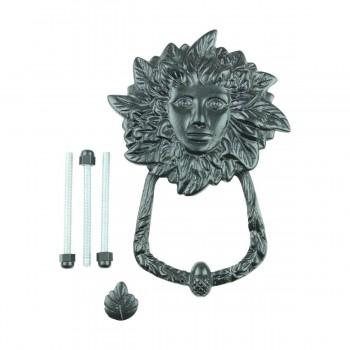 <PRE>Door Knocker Black Cast Iron Warrior Woman 7 3/8inch H x 5&quot; W </PRE>zoom7