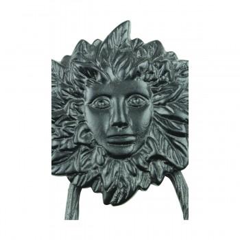 <PRE>Door Knocker Black Cast Iron Warrior Woman 7 3/8inch H x 5&quot; W </PRE>zoom8