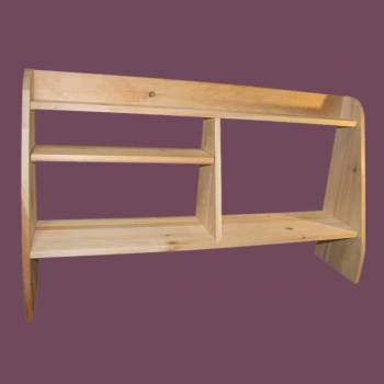 <PRE>Computer Shelves Unfinished Pine Wood Shelf Kit</PRE>
