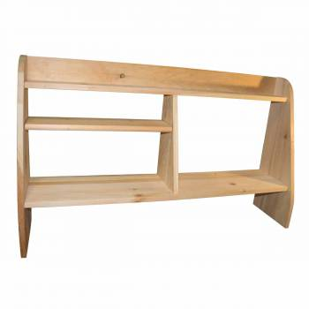Executive Desk Shelf Kit Pine Natural Unfinished