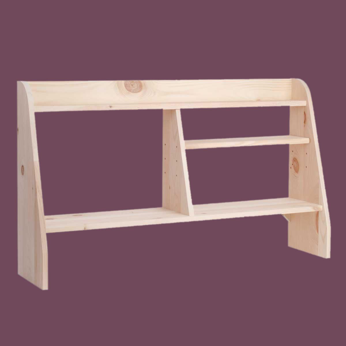 Natural Unfinished Pine: Computer Shelves Unfinished Pine Shelf
