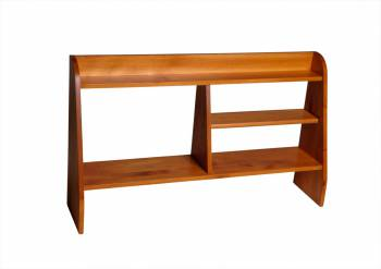 Executive Desk Shelf Pine Heirloom