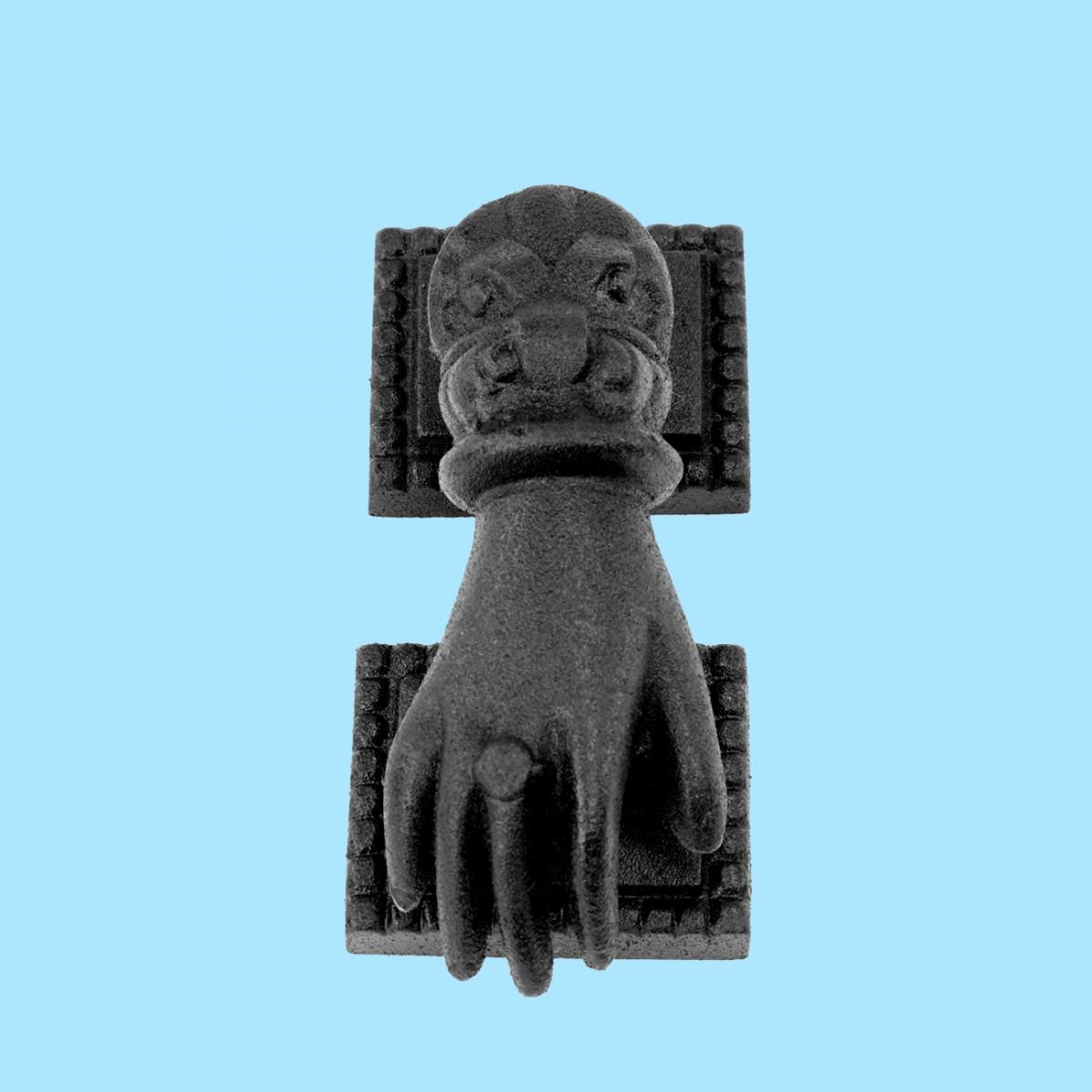 Door Knocker Black Cast Iron Hand 4\