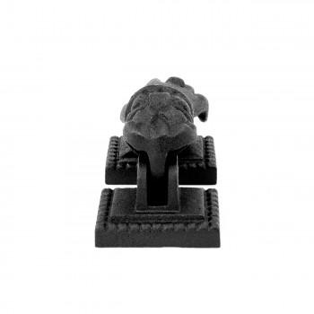 <PRE>Door Knocker Black Cast Iron Hand 4inch H x 1 15/16&quot; W </PRE>zoom6