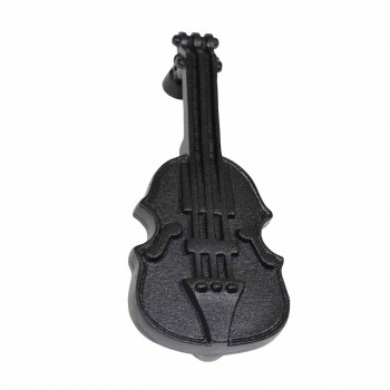 Door Knocker Violin Black Cast Iron 6 1/2