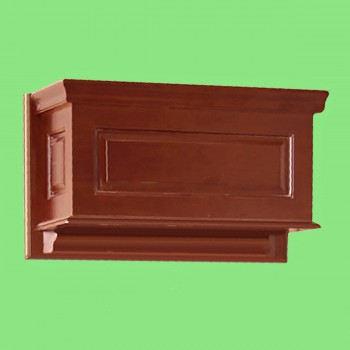 Replacement Tank - Dark Oak Finish  RAISED Panel High Tank ONLY by the Renovator's Supply