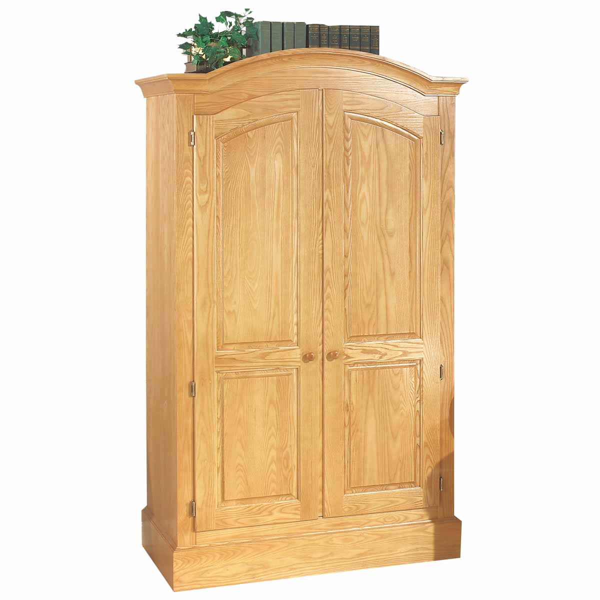 Arch Light Natural Ash Mission Style Cabinet Light Ash Stain 72 H X 4