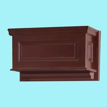 <PRE>Tank Cherry Hardwood Raised Panel Tank Only </PRE>zoom2